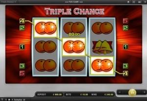 triple chance automat spielen